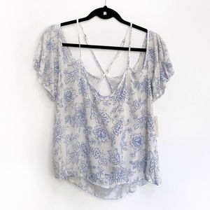 Floral Strapy Blouse